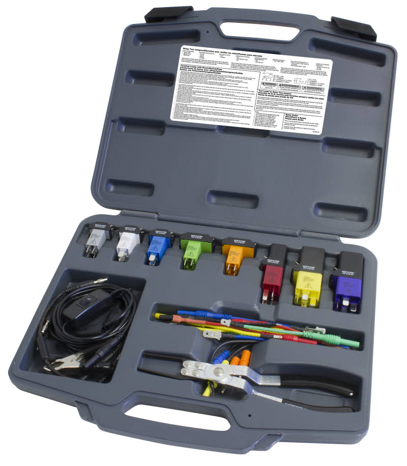 Kit complet testeur de relais et circuit fusibles for Tester un fusible sans multimetre
