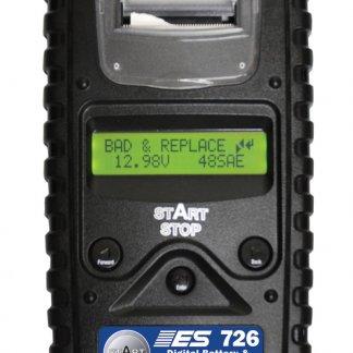 Testeur de batterie, charge et de circuit de démarreur