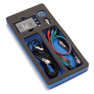 Image du Kit NVH avec accéléromètre, microphone et câbles