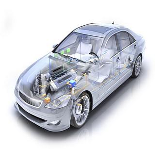 Image réseau d'un véhicule