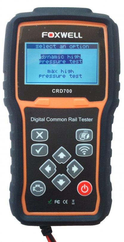 Testeur numérique pour les systèmes Common Rail Haute pression.