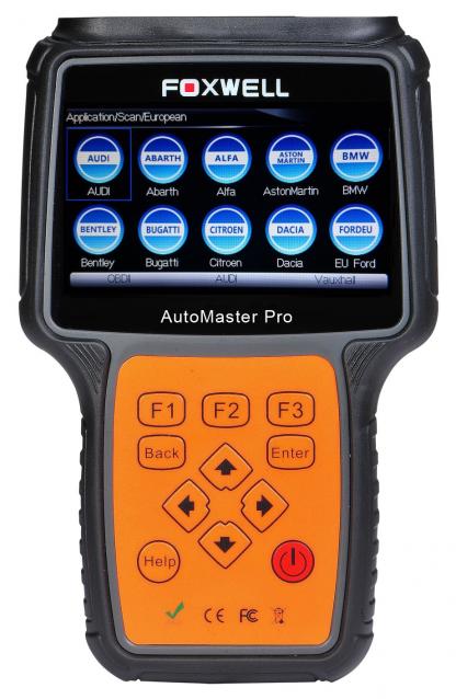 Foxwell NT644 Pro Système de diagnostic professionnel Diagnostic de TOUS systèmes voiture sur plus de 50 marques Outil d'analyse professionnel portatif